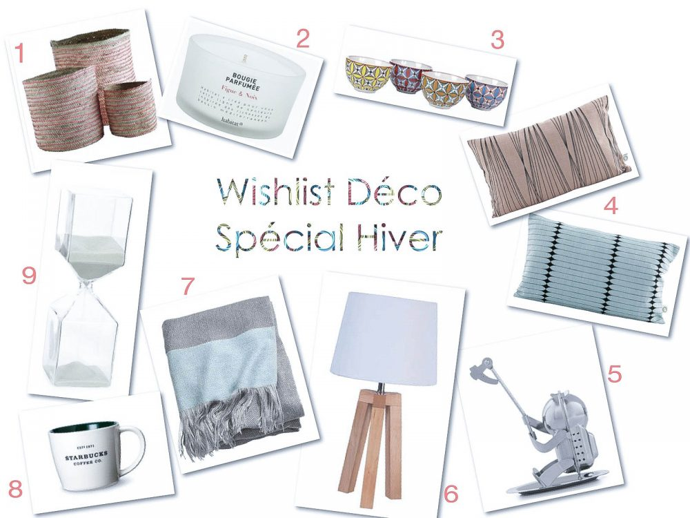 Wishlist d co sp cial hiver blog mode lifestyle nantes for Deco appartement hiver