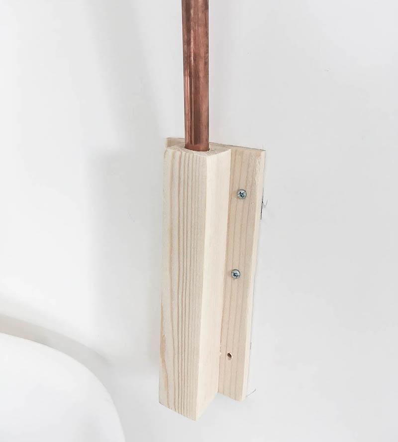 diy lampe potence. Black Bedroom Furniture Sets. Home Design Ideas